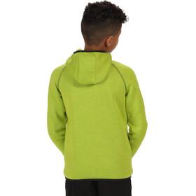 Regatta Dissolver Fleece Jacket Kids Lime Zest